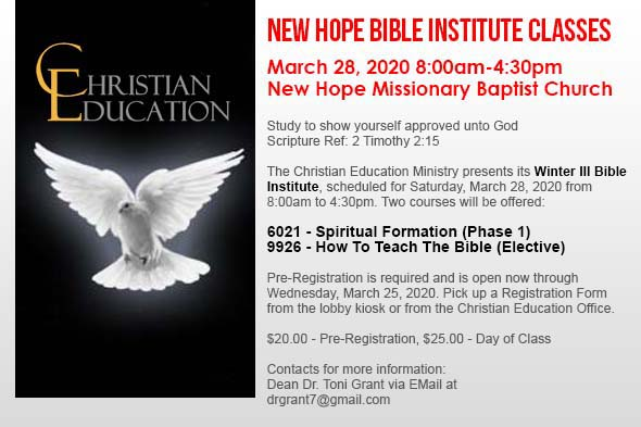 New Hope Missionary Baptist Church of Southfield